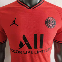 2019/20 PSG Paris Jordan Red Player Soccer Jersey