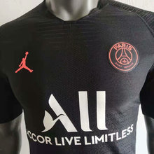 2019/20 PSG Paris Jordan Black Player Soccer Jersey