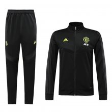 2019/20 Man Utd Black Jacket Tracksuit