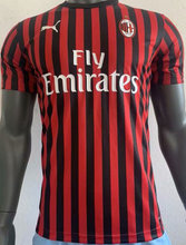 2019/20 AC Milan Home Player version Soccer Jersey