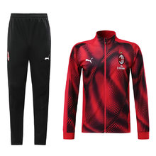 2019/20 AC Milan Black and red Jacket Tracksuit