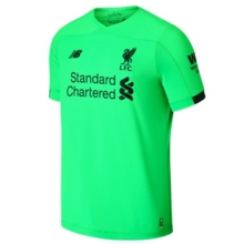 2019/20 Liverpool Green 1:1 Quality GK Soccer Jersey