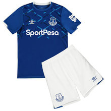 2019/20  Everton Home Blue Kids Soccer Jersey