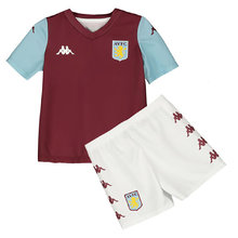 2019/20 Aston Villa Home Red Kids Soccer Jersey