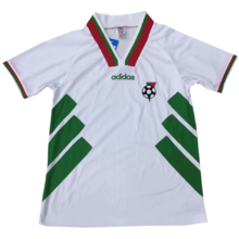 1994 Bulgaria Home White Retro Soccer Jersey