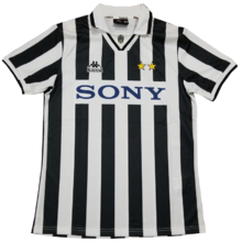 1995-1997 JUV Home Retro Soccer Jersey