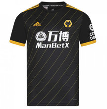 2019/20 Wolves Wanderers Away Black Fans Soccer Jersey