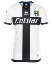2019/20 Parma Home Black And White Fans Soccer Jersey