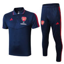 2019/20 Arsenal Black Polo Tracksuit