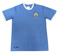2019/20 Man City  Blue 125th Anniversary Fans Soccer Jersey