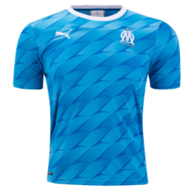 2019/20 Marseille 1:1 Quality Away Blue Fans Soccer Jersey