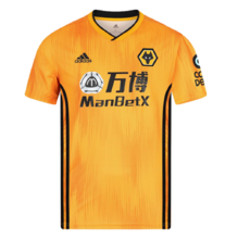 2019/20 Wolves Wanderers Home Yellow Fans Soccer Jersey