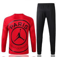 2019/20 PSG Paris Jordan Red Sweater Tracksuit