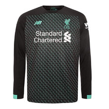 2019/20 Liverpool Away Long Sleeve Soccer Jersey