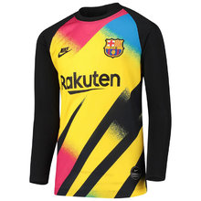 2019/20 BA Black And Yellow Goalkeeper Long Sleeve Soccer Jersey
