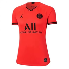 2019/20 PSG Paris Away Orange Women Soccer Jersey