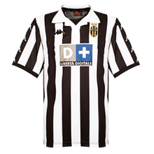 1999-2000 Juventus Home Retro Fans Soccer Jersey