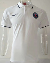 2019/20 PSG Paris White Polo Short Jersey
