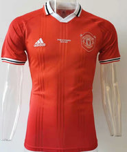 2019/20 Man Utd Orange Red Polo Short Jersey