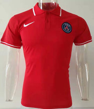 2019/20 PSG Paris Red Polo Short Jersey