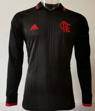 2019/20 Flamengo Black Polo Long Sleeve Jerseys
