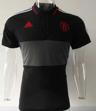 2019/20 Man Utd Black Polo Short Jersey