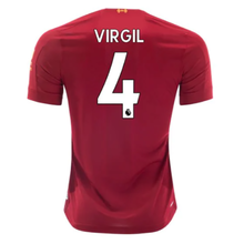 VIRGIL #4  Liverpool Home Fans Soccer Jersey 19/20