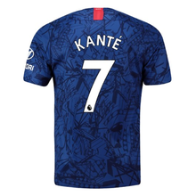 KANTE #7 Chelsea Home Blue Fans Soccer Jersey 19/20