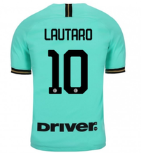LAUTARO #10 Inter Milan Away Fans Soccer Jersey 19/20 (Have DRIVER)