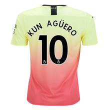 KUN AGUERO #10 Man City Away Fans Soccer Jersey 19/20