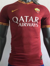 2019/20 Roma Home Red Player Version Soccer Jersey