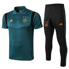 2019/20  Ajax Green Polo Tracksuit