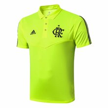 2019/20 Flamengo Green Polo Short Jersey