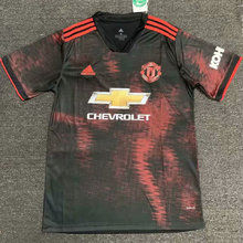 2019/20 Man UTD  Black And Red Training Jersey