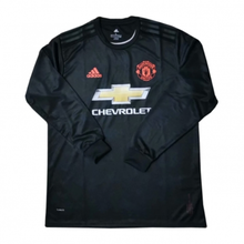 2019/20 Man Utd Black Long Sleeve Soccer Jersey