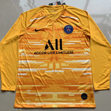 2019/20 Paris Yellow GK Long Soccer Jersey
