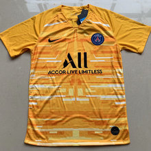 2019/20 Paris Yellow GK Soccer Jersey