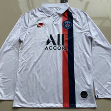 2019/20 PSG Paris White Long Sleeve Soccer Jersey