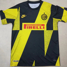 2019/20 Inter Yellow And Black Training Short Jersey