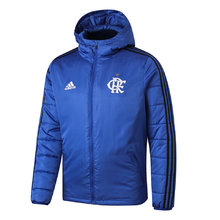 2019/20 Flamengo Blue Cotton Padded Clothes