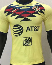2019/20 América Home Yellow Player Soccer Jersey