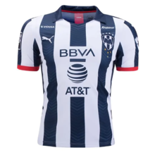 2019/20 Monterrey Home Black And White Fans Soccer Jersey
