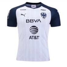 2019/20 Monterrey Away Black And White Fans Soccer Jersey
