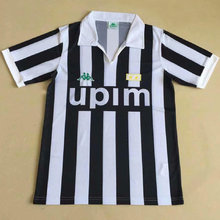 1991 JUV Home Retro Soccer Jersey