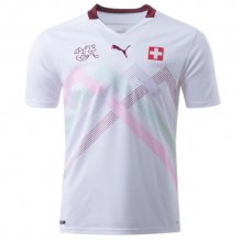2020 Euro Switzerland 1:1 Quality Away Fans Soccer Jersey