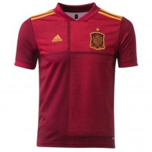 2020 Euro Spain 1:1 Quality Home Fans Soccer Jersey