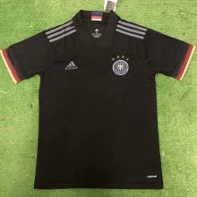 2020 Euro Germany Black Fans Soccer Jersey