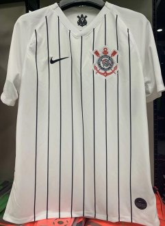 2019/20 Corinthians Home 1:1 Quality White Fans Soccer Jersey