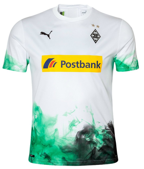 2019/20 Monchengladbach Home Fans Soccer Jersey