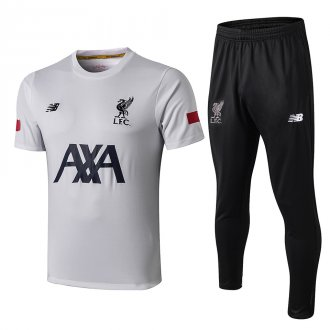 2019/20 Liverpool White Polo Tracksuit